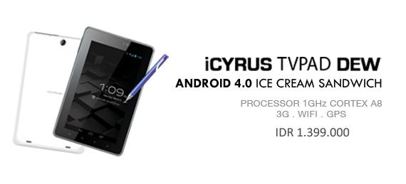 iCyrus TVPad Dew